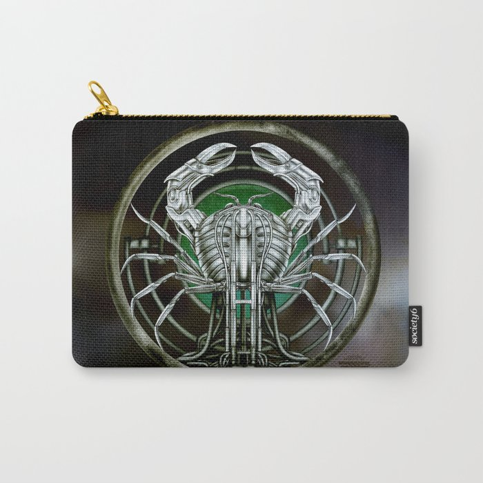 """""""Astrological Mechanism - Cancer"""" Carry-All Pouch"""