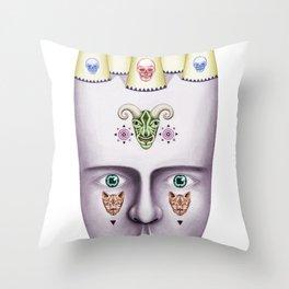 Skulls 2 Throw Pillow
