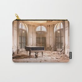 Piano in Abandoned Castle Carry-All Pouch