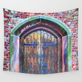 Knock Knock Wall Tapestry