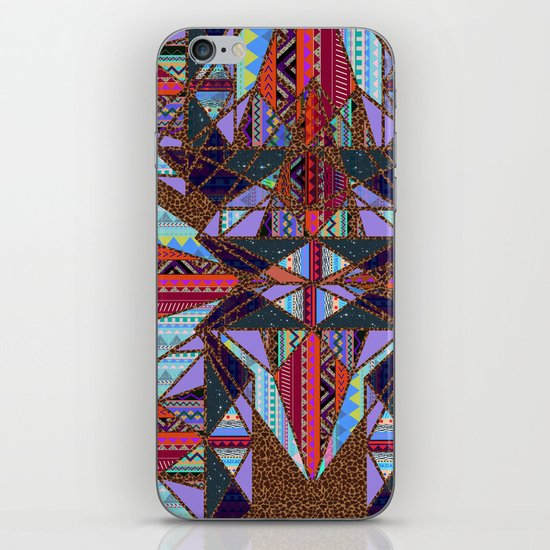 RETRO KALEIDOSCOPE //TWO iPhone & iPod Skin