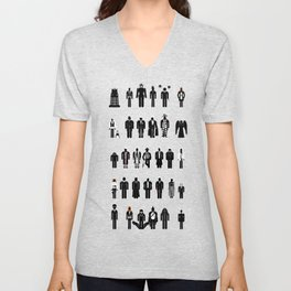 Time and Space Recognition Guide Unisex V-Neck