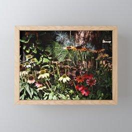 Modern SoCal Fall Garden Framed Mini Art Print