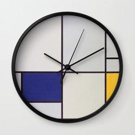 Piet Mondrian - Tableau I Wall Clock