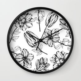 nature can see you Wall Clock