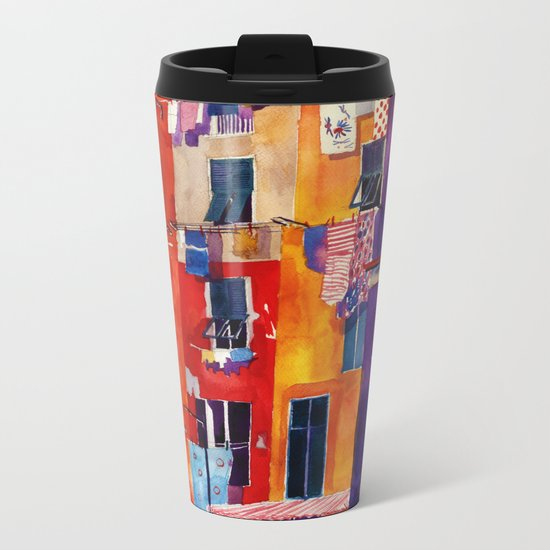 Portovenere Metal Travel Mug