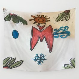 Weather Witch symbol Wall Tapestry