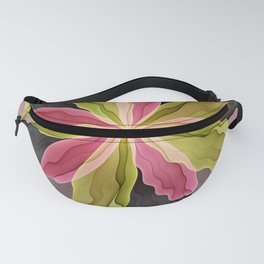 No Sadness, Joy, Fantasy Flower Fanny Pack