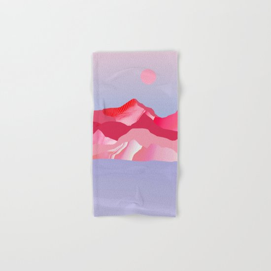 Pink Sun Blush Hand & Bath Towel