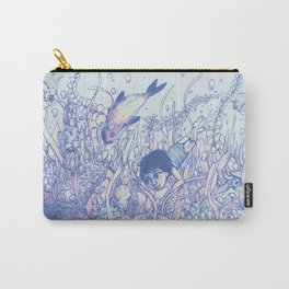 Explore to Discover Carry-All Pouch