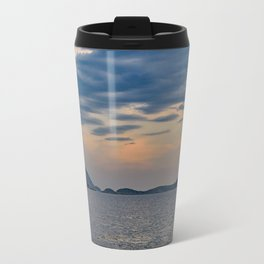 Landscape Scene from Ipanema Beach Rio de Janeiro Brazil Travel Mug