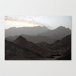Sinai Mountains, Egypt Canvas Print