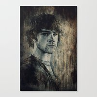 winchester Canvas Prints featuring Sam Winchester by Sirenphotos