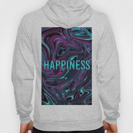 "ABSTRACT LIQUIDS HAPPINESS ""51"" Hoody"
