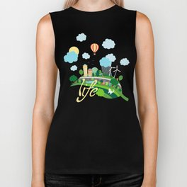 Eco Life Biker Tank
