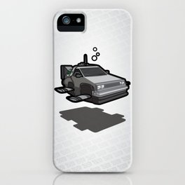 Bond To The Future iPhone Case