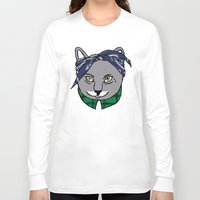 archer Long Sleeve T-shirts featuring Archer by YEAH RAD STOKED