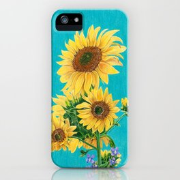 Sunflowers & Friends iPhone Case