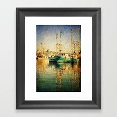 Pass Christian Harbor Framed Art Print