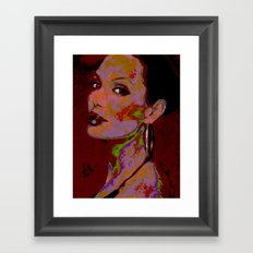 YOURS TRULY, ANGELINA By Cd KIRVEN Framed Art Print