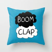 tfios Throw Pillows featuring Boom Clap (the sound of my heart - TFIOS) by Tangerine-Tane