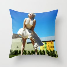 Giant Marilyn Throw Pillow