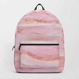 Watercolor Layers Rose Gold Backpack