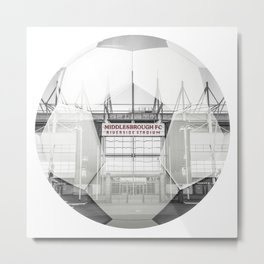 Middlesbrough Football Metal Print