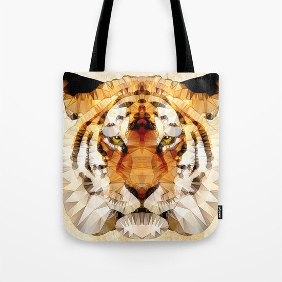 abstract tiger Tote Bag