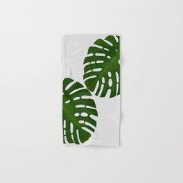 Monstera Leaf II Hand & Bath Towel