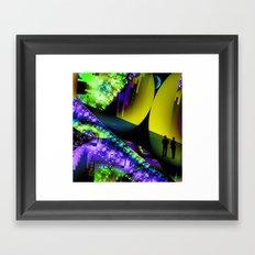 Futuristic City Framed Art Print