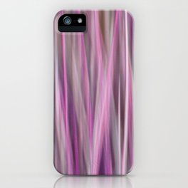 Purple Abstract iPhone Case