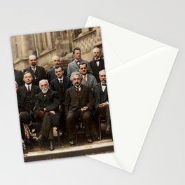 Solvay Conference Stationery Cards