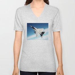 Jet Going Up Unisex V-Neck