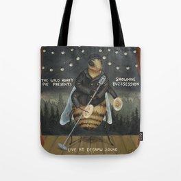 Snowmine Buzzsession Cover Art Tote Bag