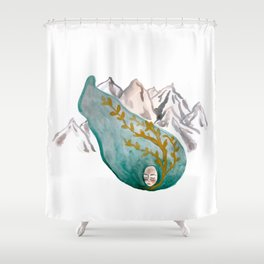 Mountain Vine Shower Curtain