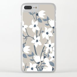 flowers / 57 Clear iPhone Case