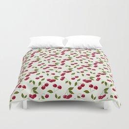 Cherry pattern . No. 1 Duvet Cover
