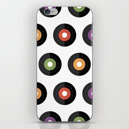 Vinyl times iPhone Skin