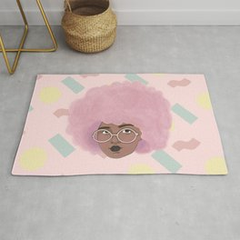 Bubblegum Girl Rug