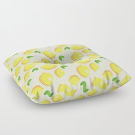 Lemon Pattern Floor Pillow