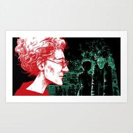 Eva Gore-Booth by Szabolcs Kariko Art Print