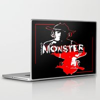 carl sagan Laptop & iPad Skins featuring Carl Grimes by artandawesome