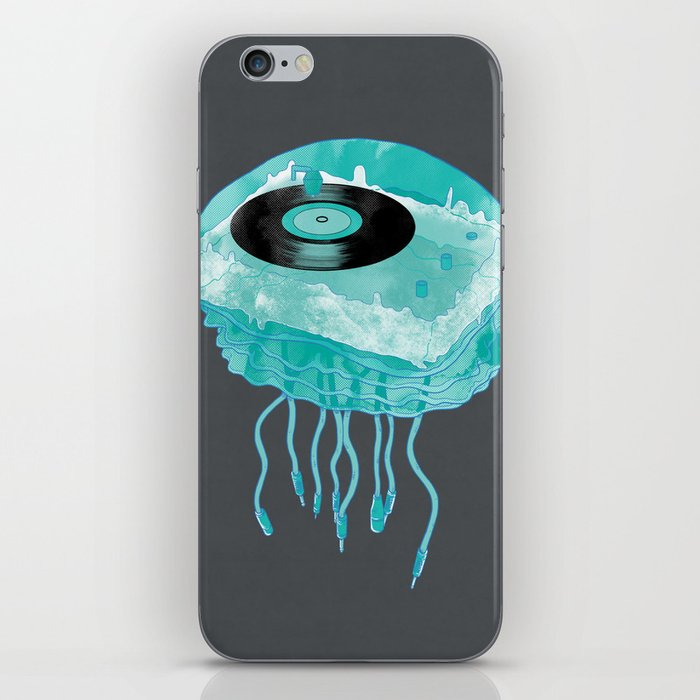 Deep Sea Audiophile iPhone Skin