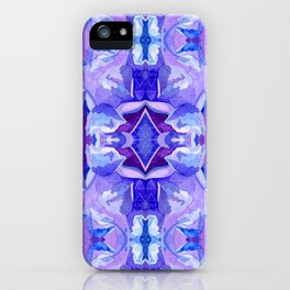 Matters of the Heart Floral iPhone Case