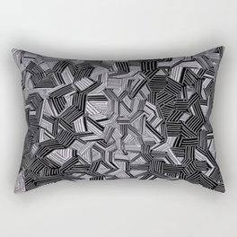Pitch Pale Rectangular Pillow