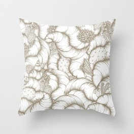 ABSTRACT CATUSES Throw Pillow
