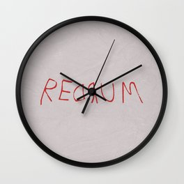 The Shining 02 Wall Clock