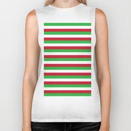 Burundi flag stripes Biker Tank