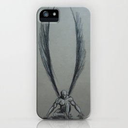 Kneeling Angel iPhone Case